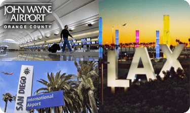 Car Service to LAX, SNA, LGB, SAN - Car Service Orange County