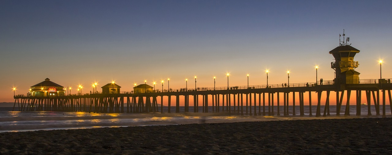 Huntington Beach Pier, Southern California