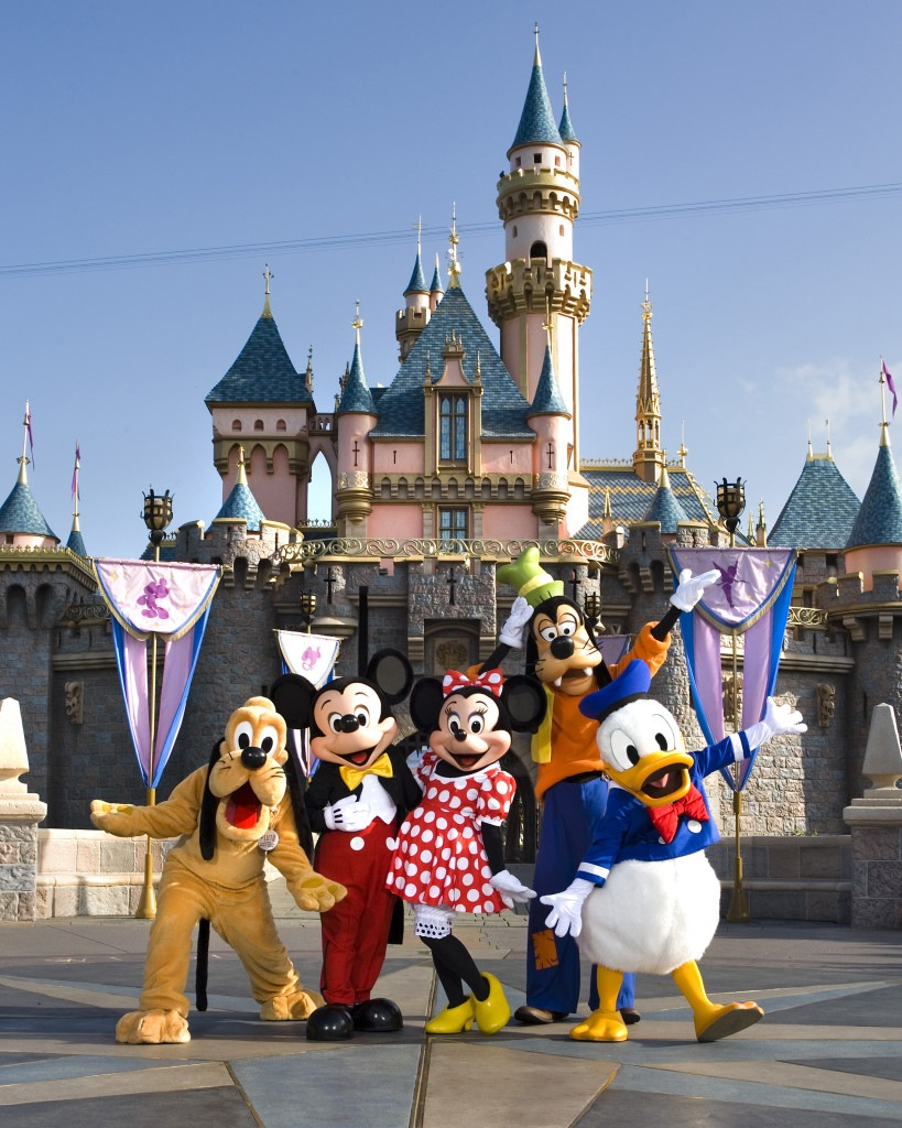 private car or shuttle to Disneyland